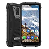 Blackview BV6900 Movil Resistente 4G, Helio P25 4GB + 64GB, IP68 Movil Antigolpes Android 9.0, SIM Dual, batería 5580 mAh,NFC (Negro)