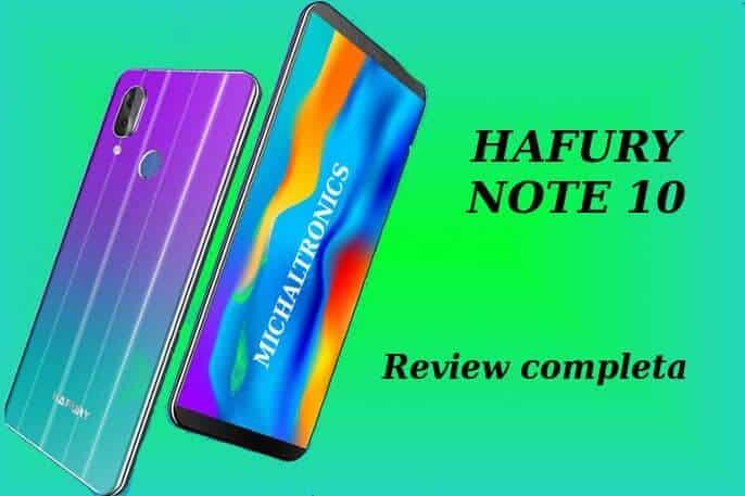 hafury note 10 caracteristicas