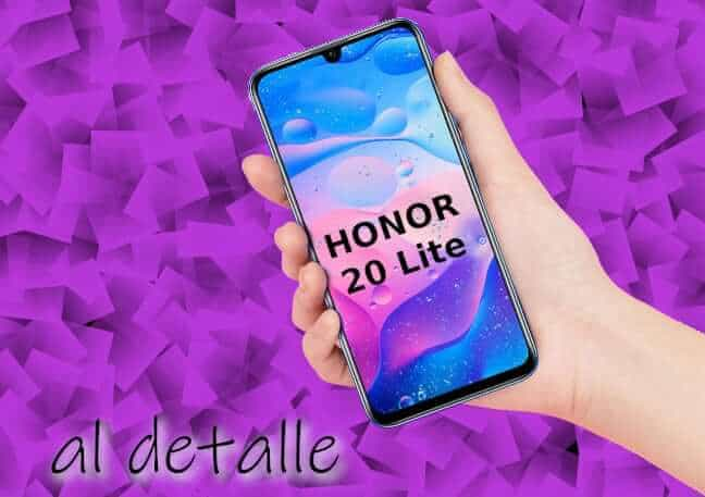 honor 20 lite opiniones