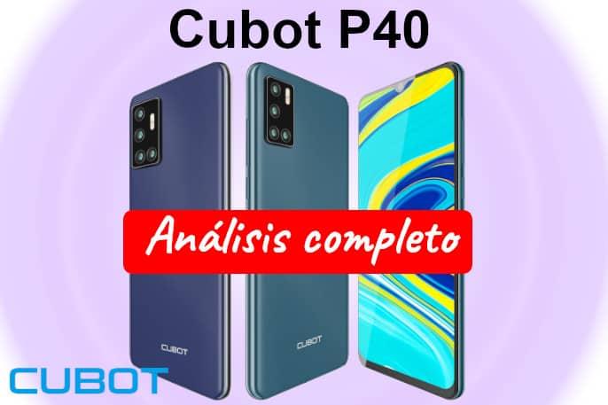 cubot p40 opiniones