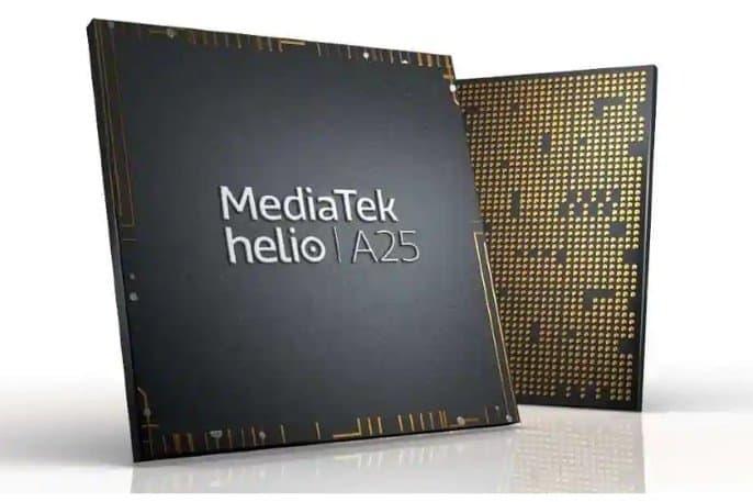 procesador mediatek Helio A25