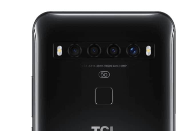tcl 10 5g cámaras