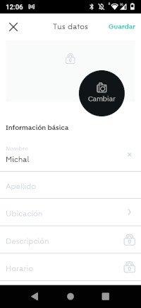 perfil de usuario en wallapop