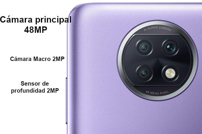 Redmi Note 9T cámaras