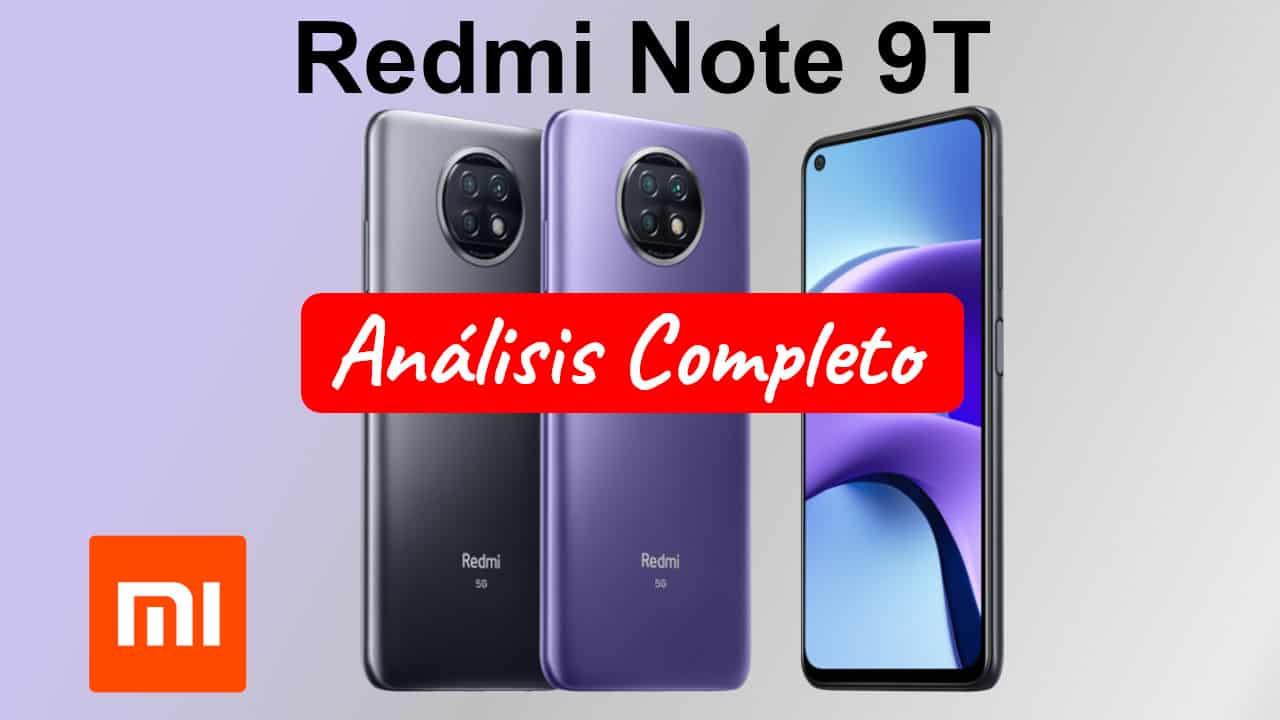 Redmi Note 9T opiniones portada